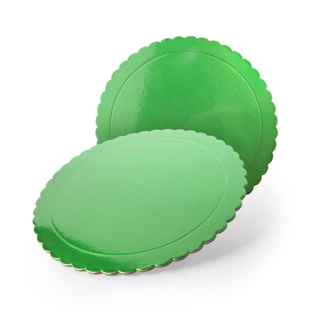Base Redonda para Tarta Verde 30 cm