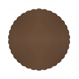 Base Redonda para Tarta Marrón 30 cm