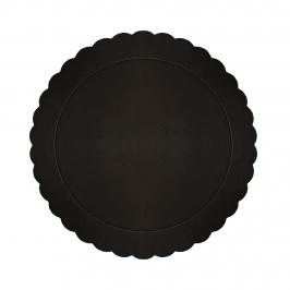 Base Redonda para Tarta Negra 20 cm