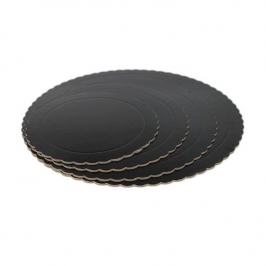 Base Redonda para Tarta Negra 30 cm