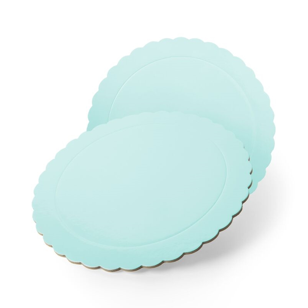 Base Redonda para Tarta Azul 30 cm