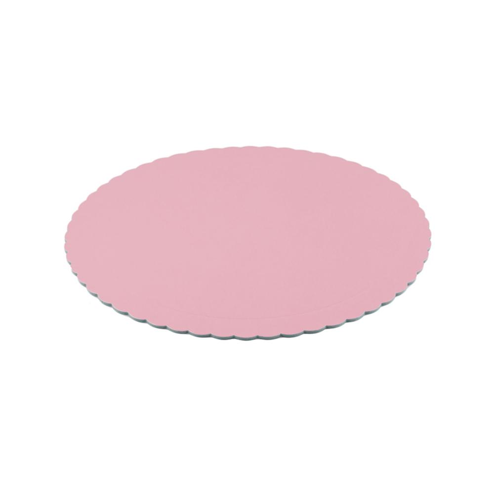 Base Redonda rígida Rosa Bebé 25 cm