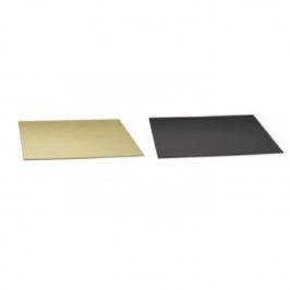 Base para dulces oro/negro 30x40cm