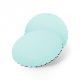 Base Redonda para Tarta Azul 25 cm