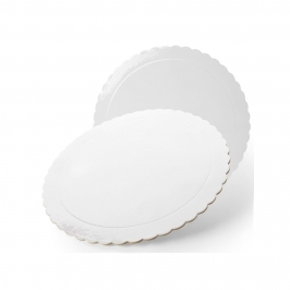 Base Blanca Redonda para Tartas 20 cm