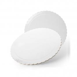 Base Blanca Redonda para Tartas 25 cm