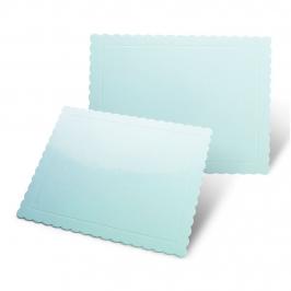 Base Rectangular para Tartas Azul 30 x 40 cm