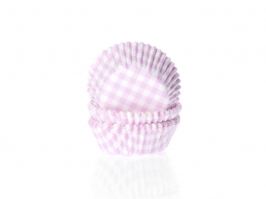 Mini Cápsulas Gingham Pink