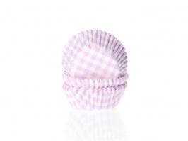 Mini Cápsulas Gingham Pink