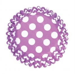 Cápsulas para cupcakes Spot Purple