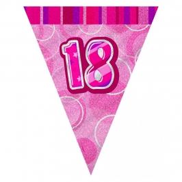 Guirnalda Nº 18 Rosa Brillante