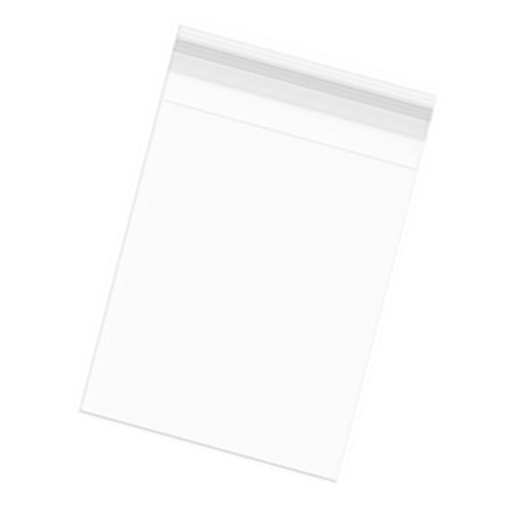Bolsas Celofán con Solapa Adhesiva (15 x 22 cm) 100 uds