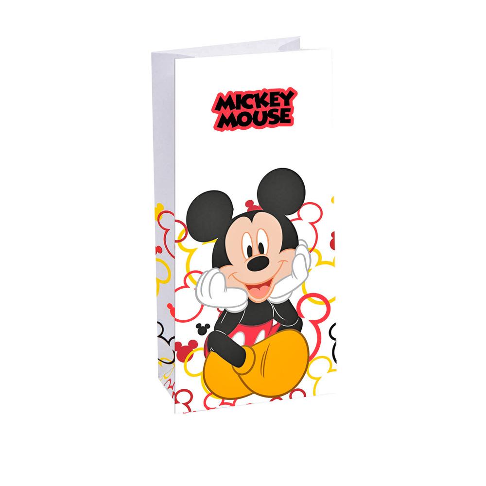 86c7a31e0 Set de 6 Bolsas de Papel Mickey Mouse - Comprar Online {My Karamelli}