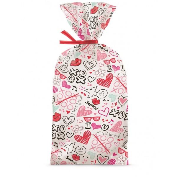 Bolsas para dulces de San Valentín