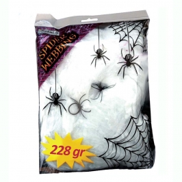 Bolsa Telaraña Blanca 228 gr