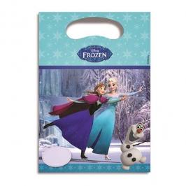 Bolsas para chuches Frozen Elsa y Anna patinando