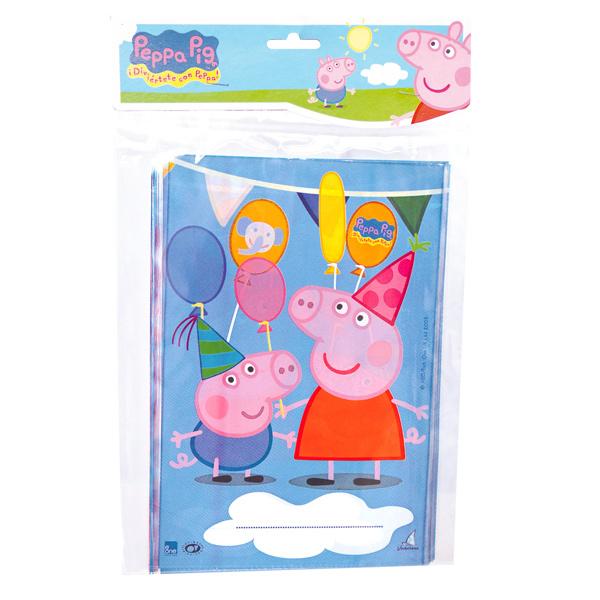 Bolsas para Chuches Peppa Pig