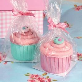 Bolsas para cupcake con Base cuadrada