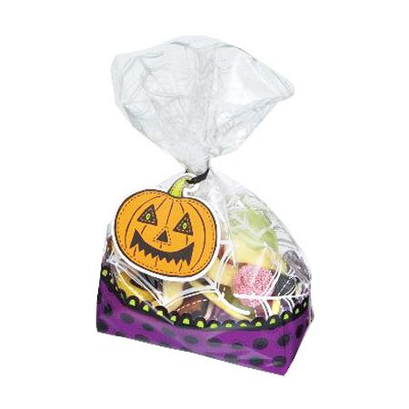 Bolsas para dulces calabaza Halloween