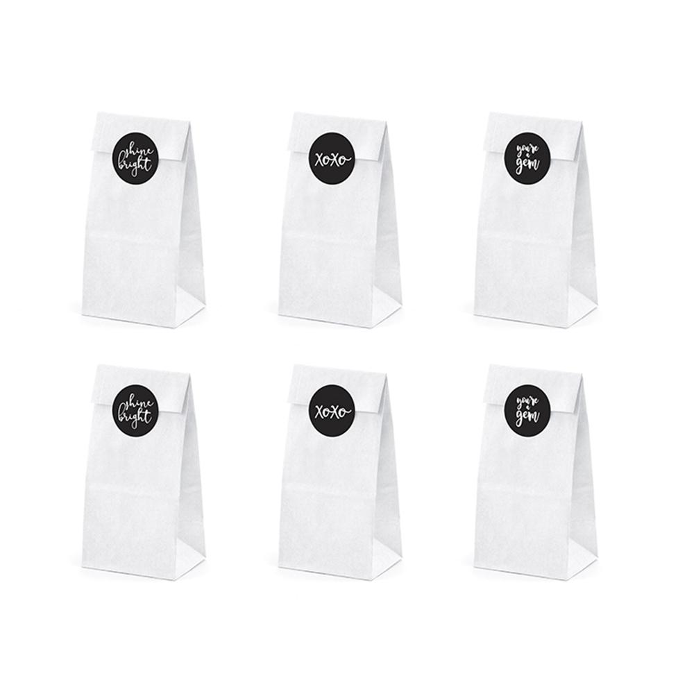 Bolsas para Dulces con Adhesivos