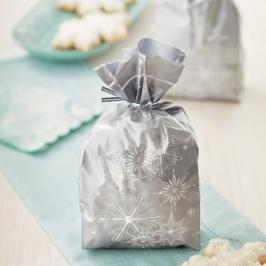 Bolsas para dulces Copos de Nieve