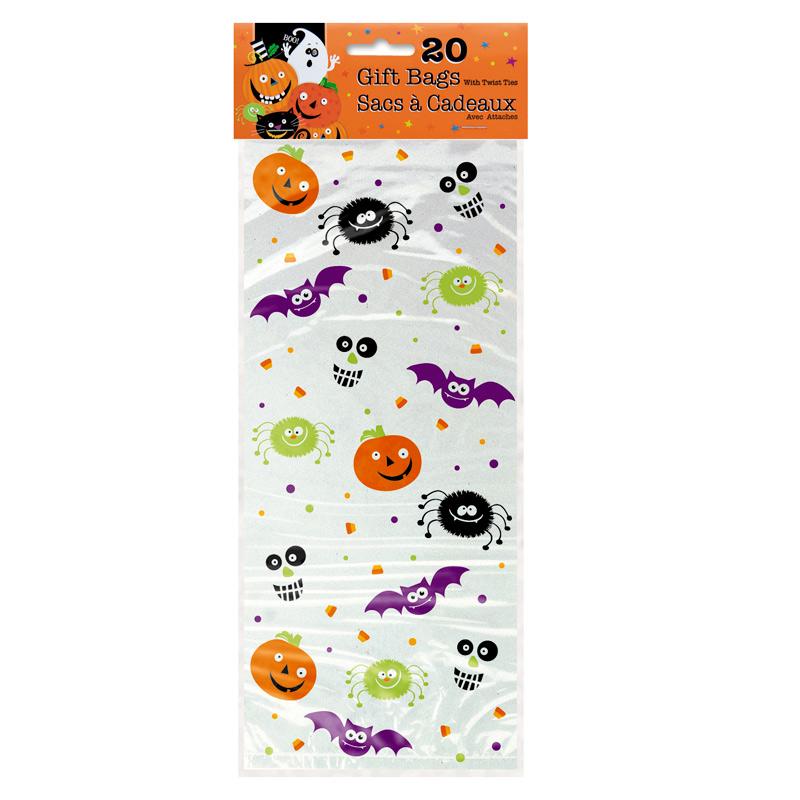 Bolsas para Dulces Happy Halloween