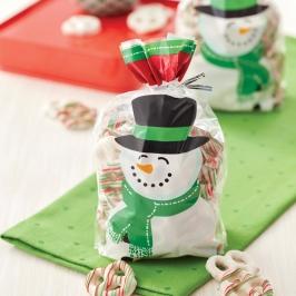 Bolsas para dulces Muñeco de Nieve