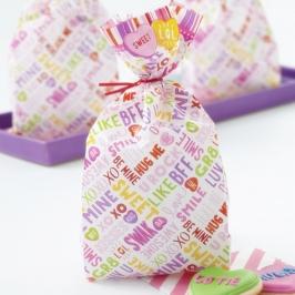 Bolsas para dulces y galletas Valentine