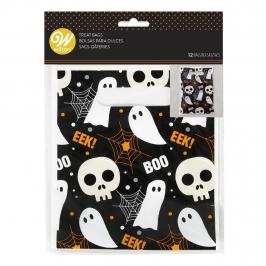 Bolsas para Dulces Halloween con Asa 12 Ud.