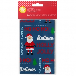 Pack de Mini Bolsas para Dulces Santa