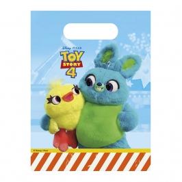 Juego de 6 bolsas para chuches Toy Story Disney