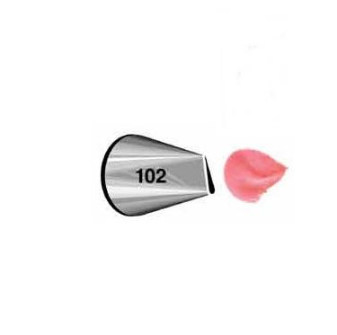 Boquilla #102 pétalo