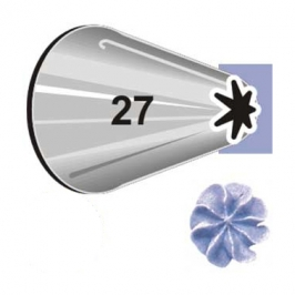 Boquilla #27 estrella cerrada