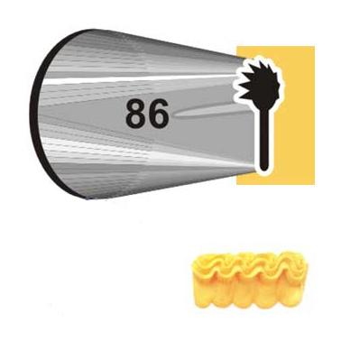 Boquilla #86 Ruffle