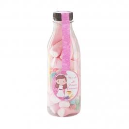 Botella con Chuches Niña Comunión 125g