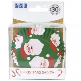 Cápsulas para Cupcakes Santa Claus 30 ud