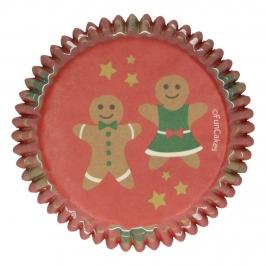 Cápsulas para Cupcakes Gingerbread 48 ud