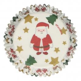 Cápsulas para Cupcakes Navidad 48 ud