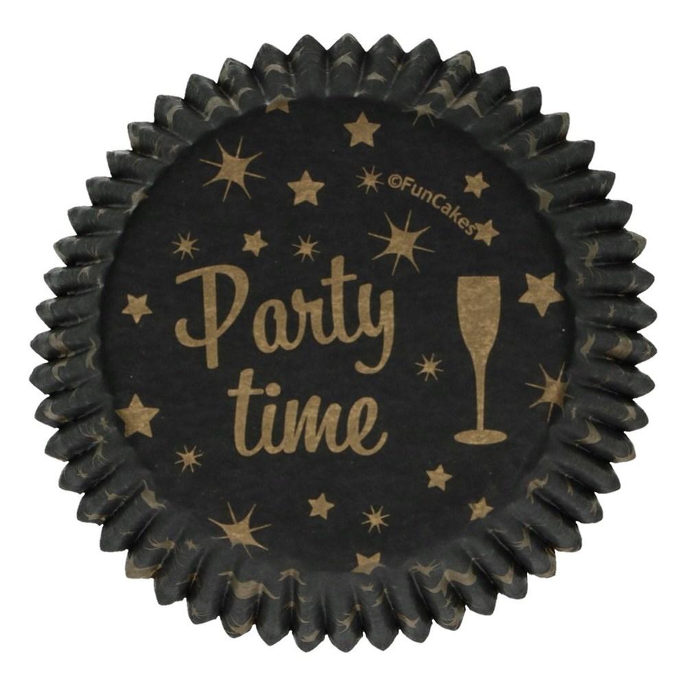 Cápsulas para Cupcakes Party Time 48 ud
