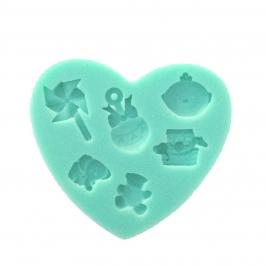Molde de Silicona Baby toys