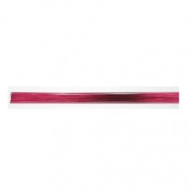 Alambre para flores rosa fucsia metalizado (50 pcs)