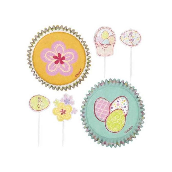 Combo cupcakes Jardín de Pascua