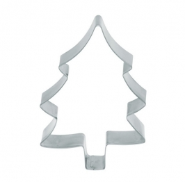 Cortador metálico forma de árbol 13 cm KC