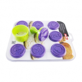 Set cortador y sellos para galletas IBILI