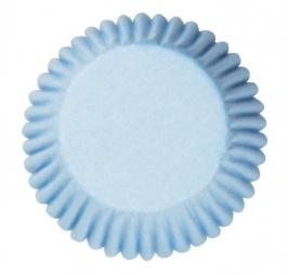 Cápsulas para cúpcakes pale blue
