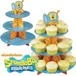 Stand para cupcakes Bob Esponja