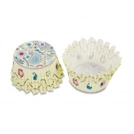 Cápsulas para cupcakes Paisley (100 uds)