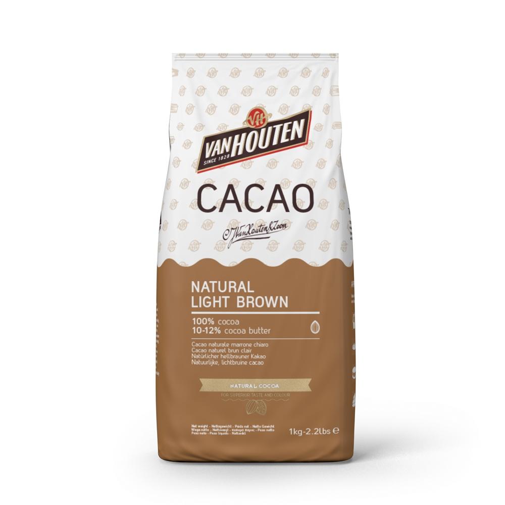 Cacao en Polvo Natural Light Brown 1 kg