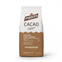 Cacao en Polvo Natural Light Brown 1 kg