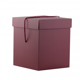 Caja Cuadrada para Panettone Rubí 22 X 22 X 26,5 cm